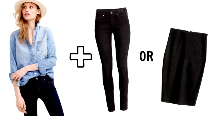 7597d8da7d8c3 If your office also hosts casual Fridays, what's your go to outfit of  choice?
