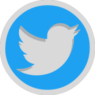 twitter icon outline