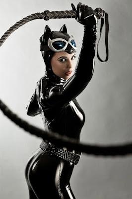 Catwomen dan manis seksi lateks BSDM super hot dan seksi