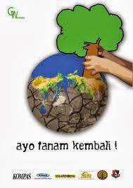 Sky Fly: Poster Hemat Energi,Kebersihan dan Menanam Pohon.
