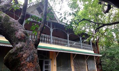 veranda in the forest matheran