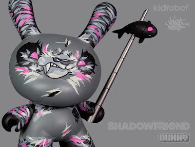 Shadow Friend 8″ Dunny by Angry Woebots