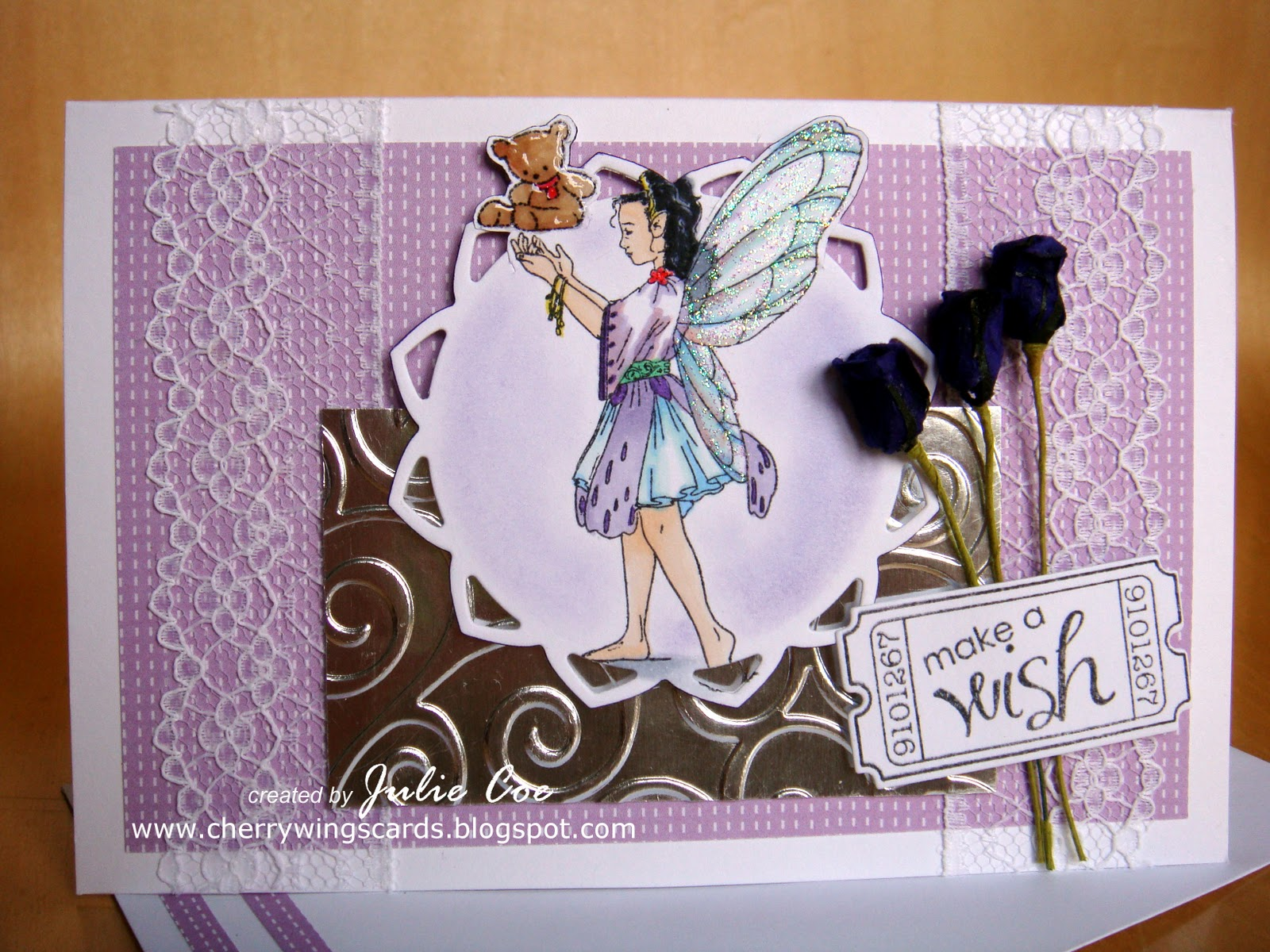 I Got This Fairy Stamp Free From The Cardmaking Papercraft Magazine Last Year And Never Used It She Was Meant To Be A Christmas Holding Snow