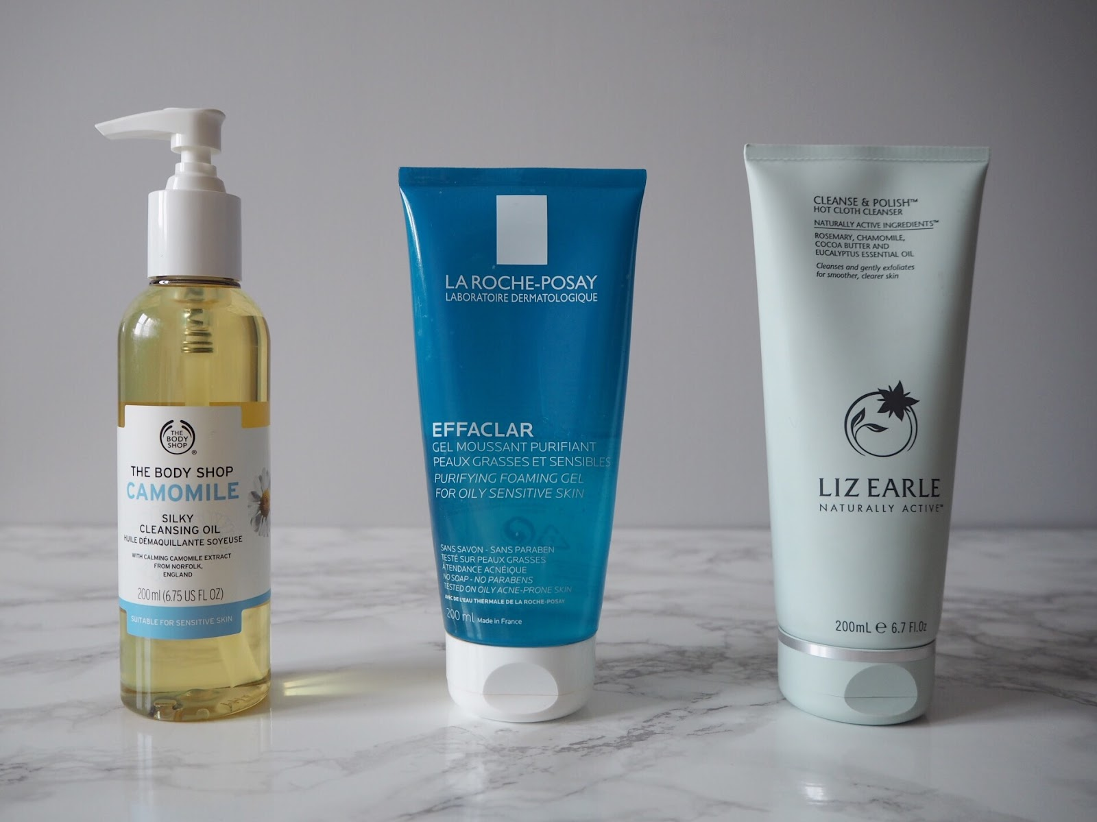 My 'can't be without' cleansers