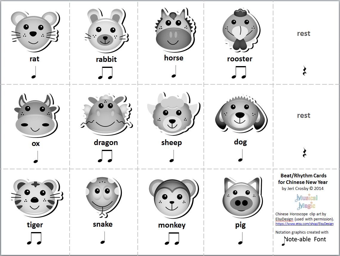 Mymusicalmagic Music Literacy Activities For Chinese New Year
