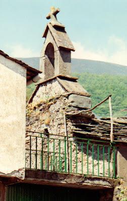 Casa Florencio en Cerredo. Capilla