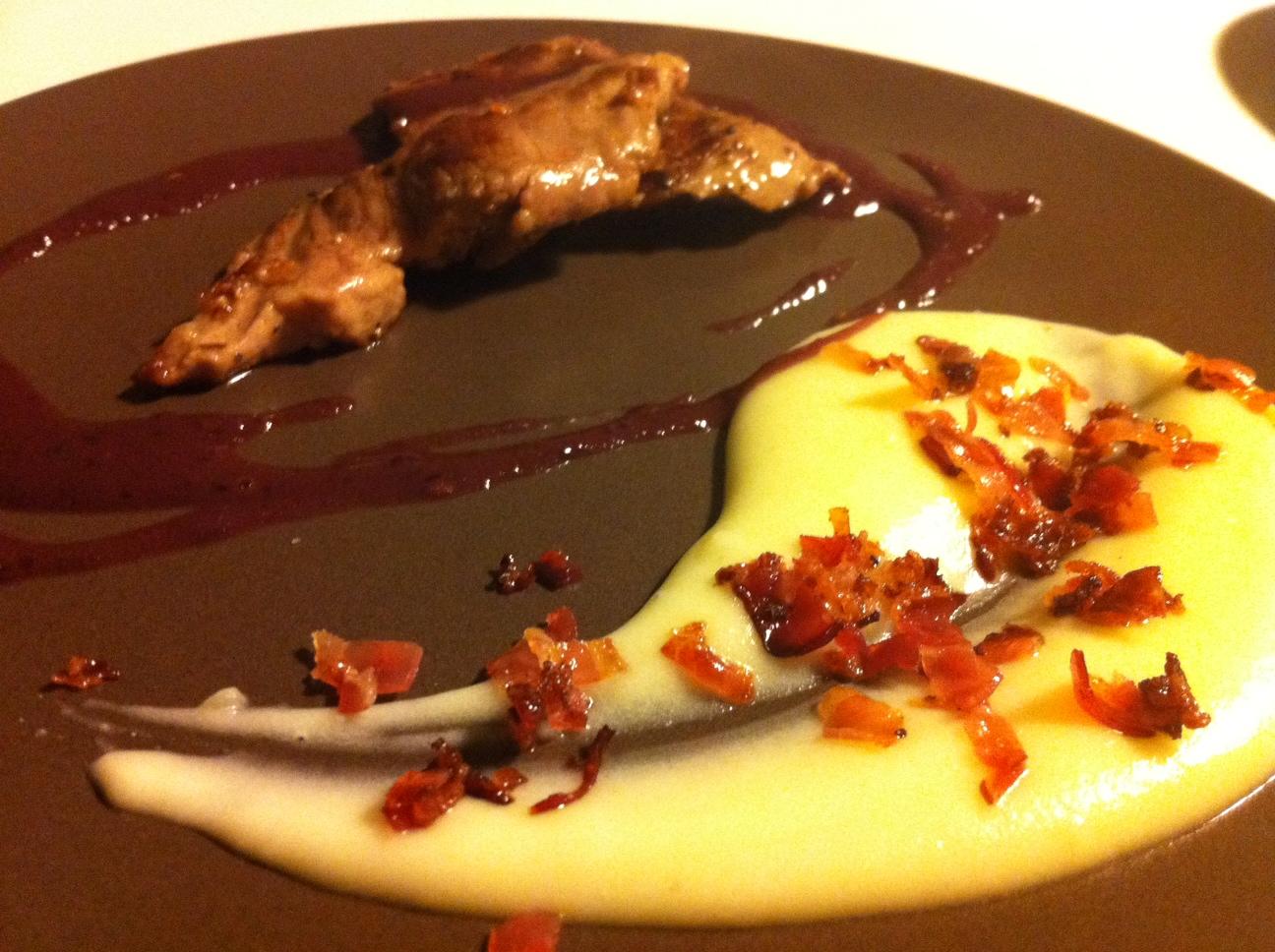 Pesadilla En La Cocina Presa Ibérica Crema De Patata Y Bacon