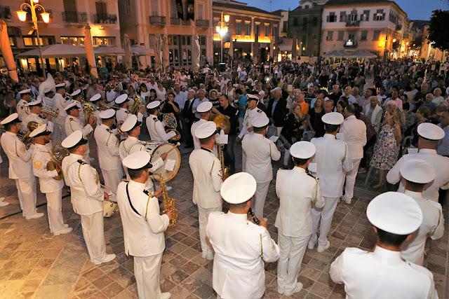 Ανακοίνωση του Πολεμικού Ναυτικού για τη συναυλία στην Πλατεία Συντάγματος Ναυπλίου