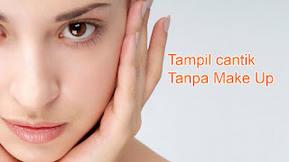 cantik natural tanpa make up