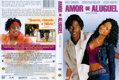 Filme Amor de Aluguel (Love Don't Cost a Thing) DVD Capa