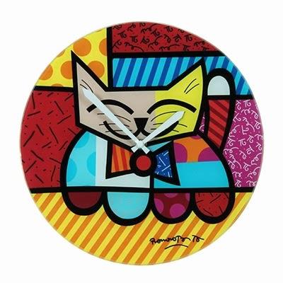 Produtos Romero Britto - Relógio do Gato