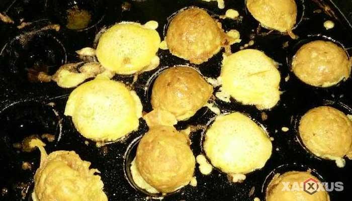 Resep cara membuat kerak telor takoyaki