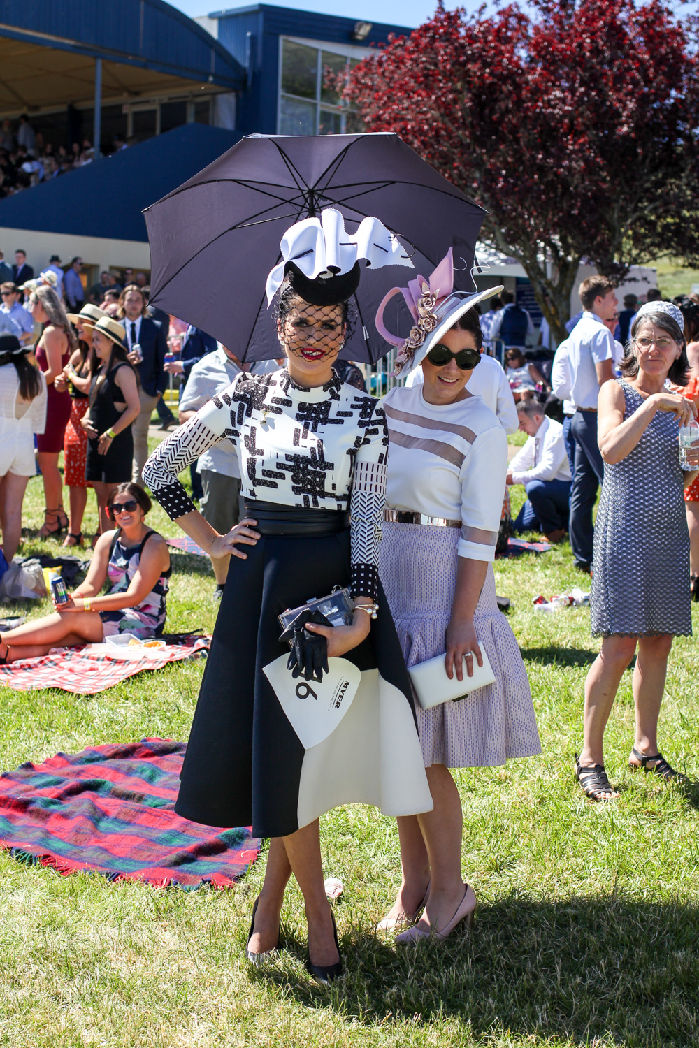 Fashions on the field style at Ballarat Cup Melbourne Spring racing carnival fashions on the field
