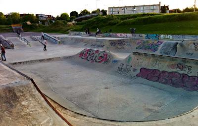 Skate parc Troyes