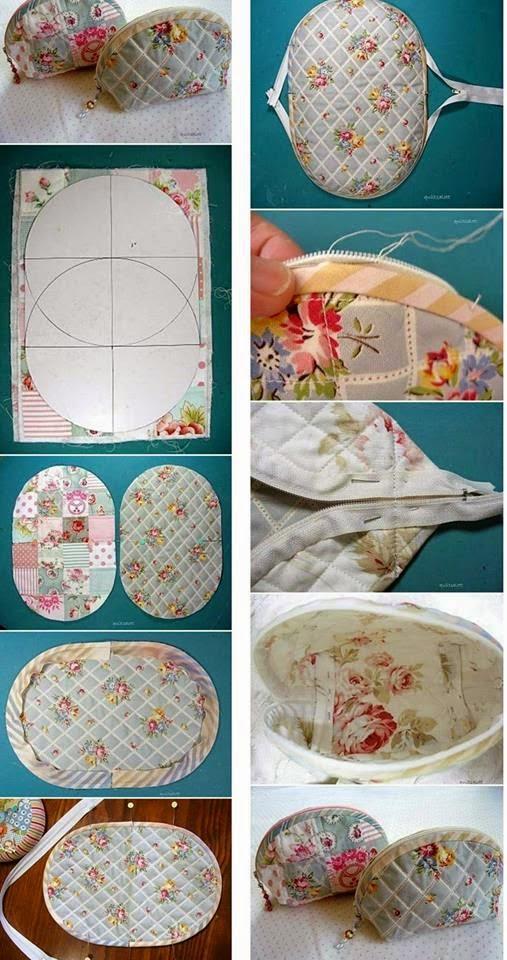 I tutorial pi amati da pinterest a facebook pochette e - Lavori da fare a casa ...