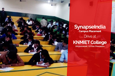 SynapseIndia Campus Placement Drive at KNMIET