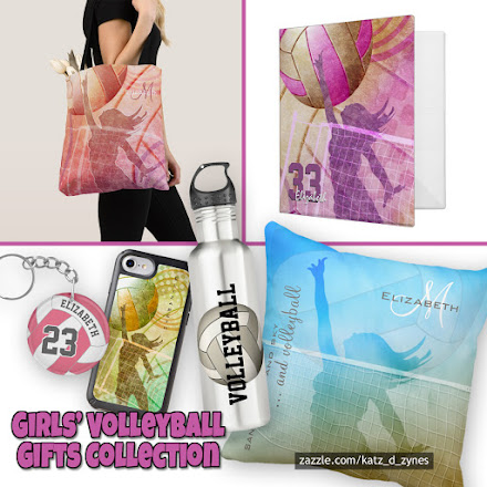 This girls' volleyball cases and gifts collection features colorful and sporty volleyball designs for girls only, available on device cases, pillows and much more ... choose from a large variety of design styles and color themes