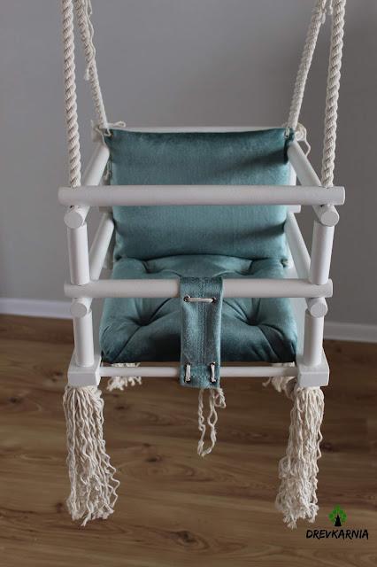 baby wooden swing