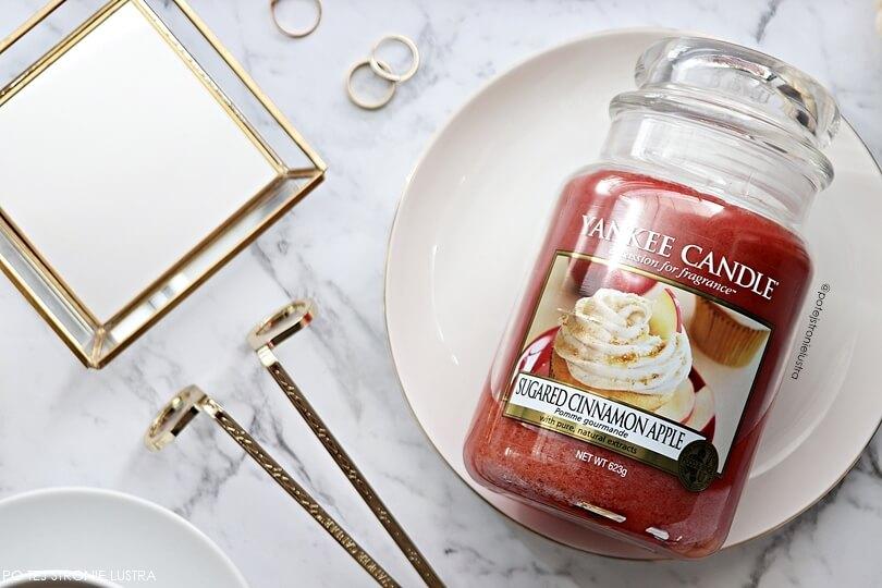 yankee candle sugared cinnamon apple nowość jesień 2018