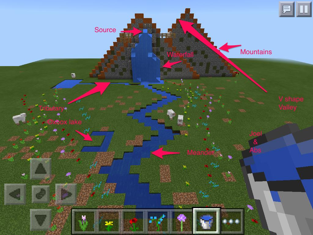 Minecraft Geography