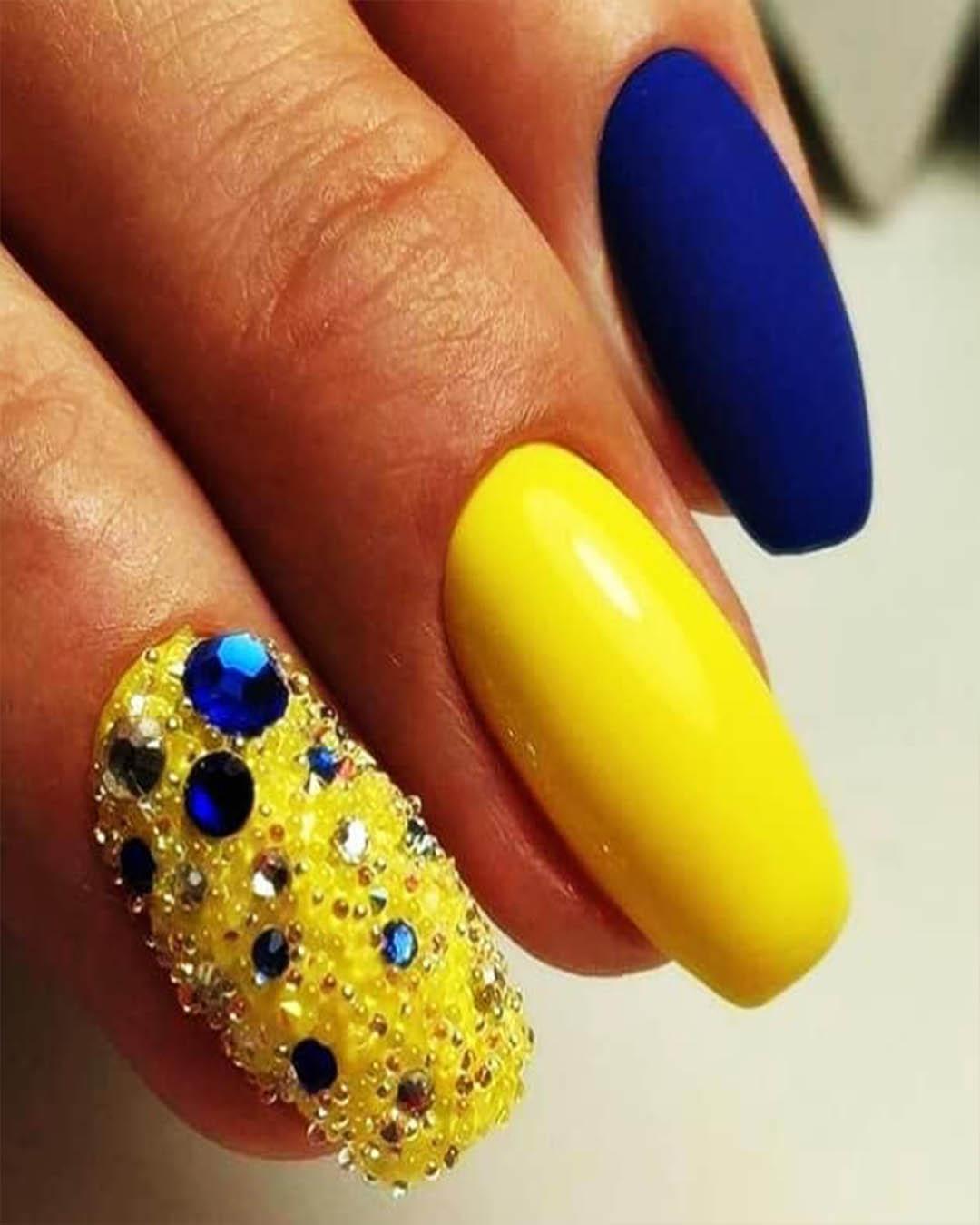 Diseño De Uñas Amarillas Que Debes Probar Ya Elsexoso