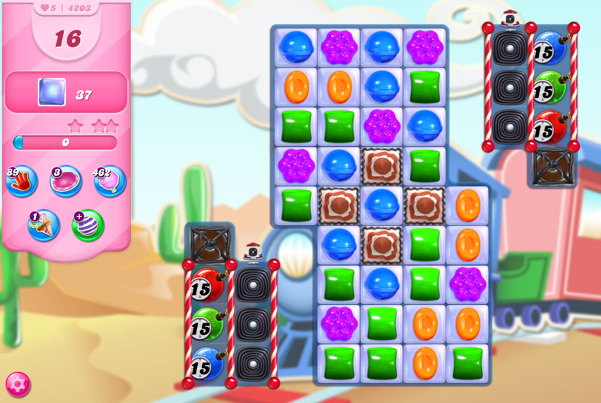 Candy Crush Saga level 4203