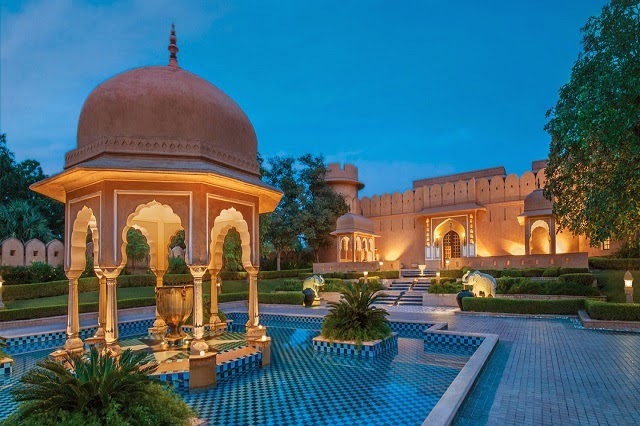 Oberoi Rajvilas in Jaipur  IMAGES, GIF, ANIMATED GIF, WALLPAPER, STICKER FOR WHATSAPP & FACEBOOK