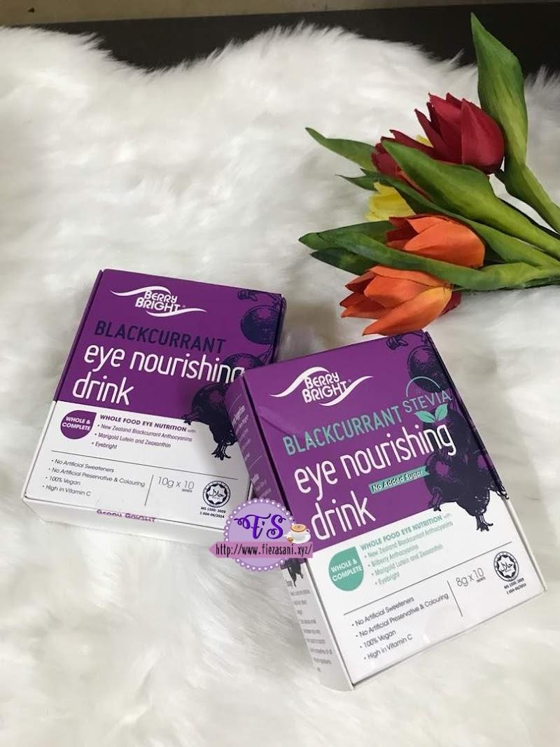 Berry Bright Eye Nourishing Drink Minuman Kesihatan Untuk Mata