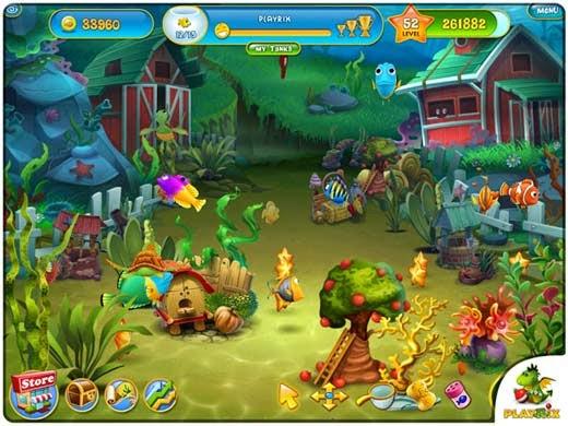 لعبة الاسماك Fishdom 3 للكمبيوتر