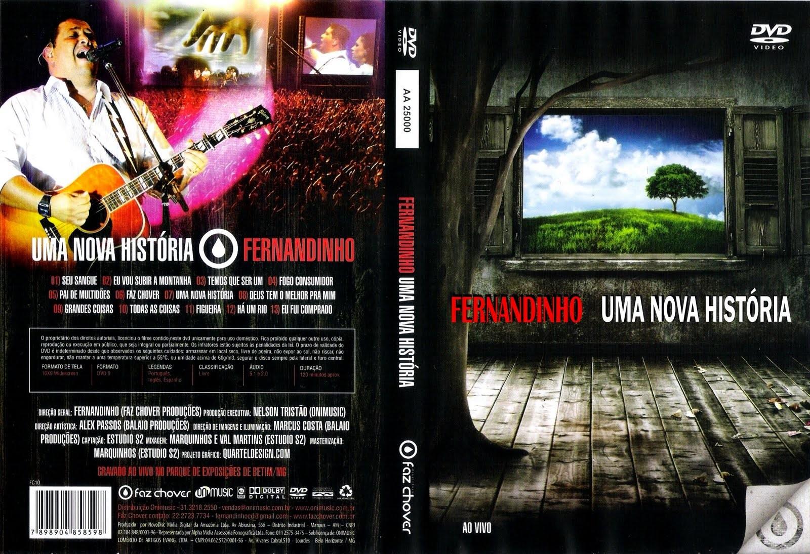 Capas Show Nacional: Fernandinho - Uma Nova História