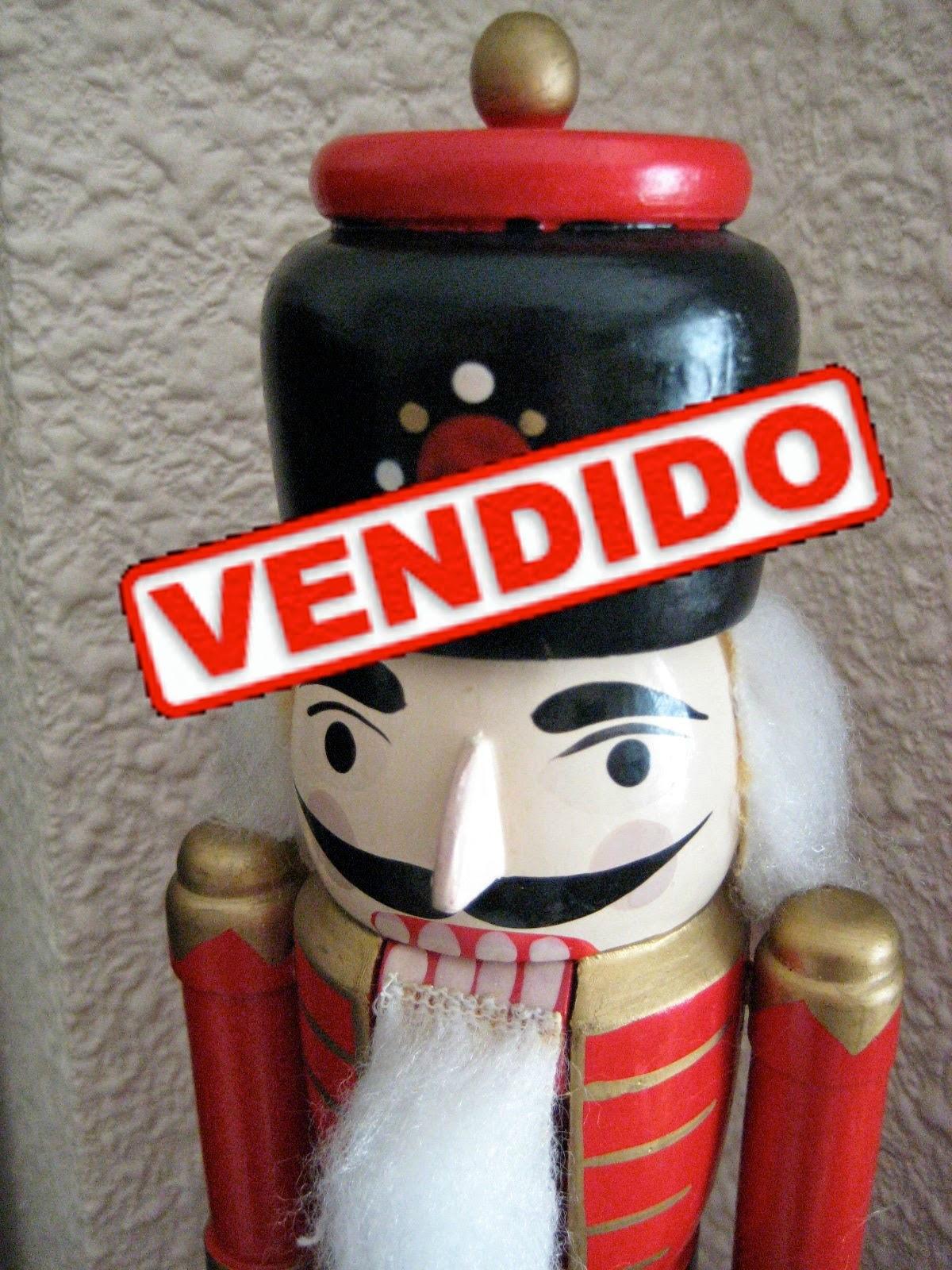 Cascanueces Vintage de Madera
