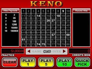 Auto Play di Keno di Online Terbatas - Informasi Online Casino