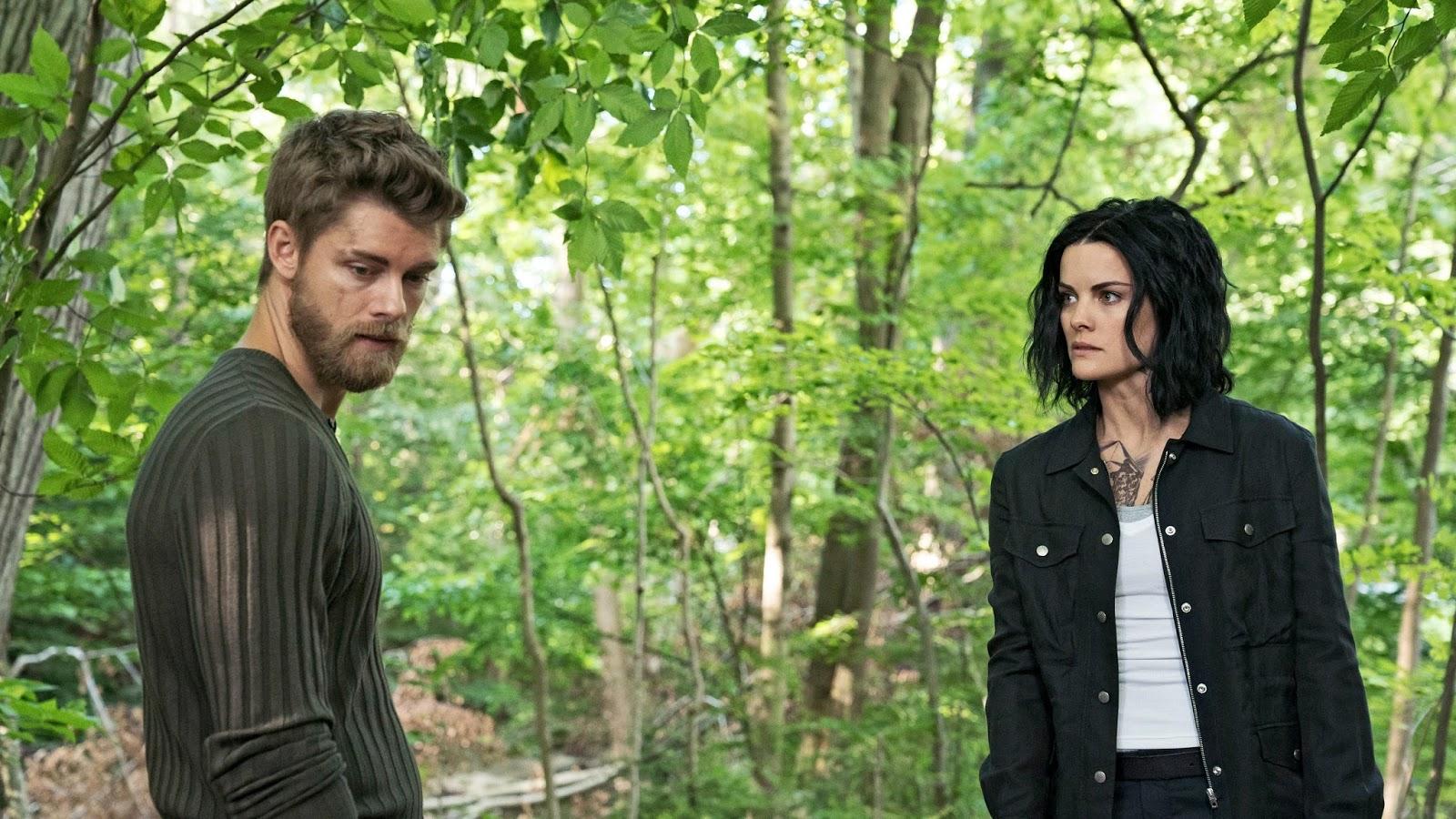 Jane y Roman en la segunda temporada de Blindspot