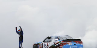 Busch Wins Overton's 200 for 175th #NASCAR Win