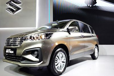 Exterior All New Ertiga 2018