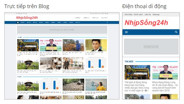 Việt Blogger Magazine Blogger Template - Mẫu 4