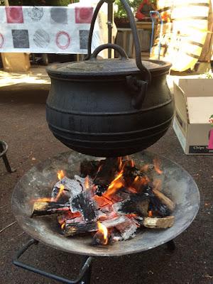 Barbecue Traiteur Paris - marmite haricots
