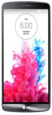 "LG G3 5.5"" Quad HD first smartphone"