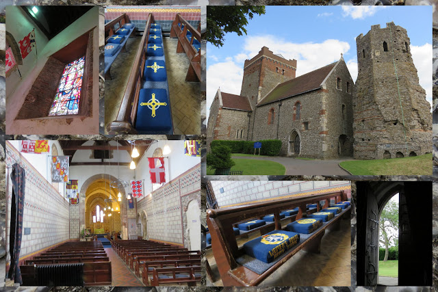 Day Trip to Dover: The Chapel at Dover Castle