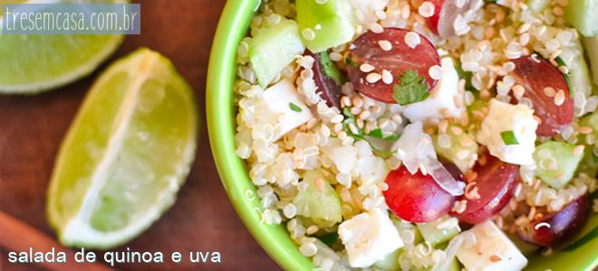 salada uva