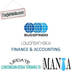 Lowongan Kerja Sucofindo Finance Accounting