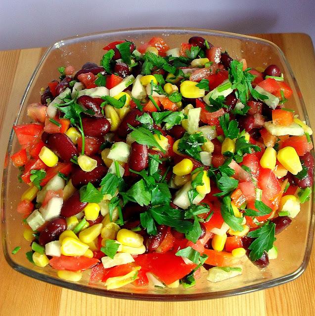 Sałatka meksykańska (do grilla)