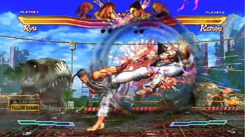 Street Fighter X Tekken (EUR + DLC) PS3 ISO Screenshots #2