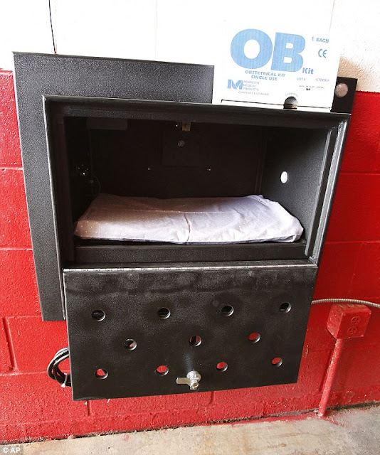 Indiana fire stations install 'Safe Haven Baby Boxes'