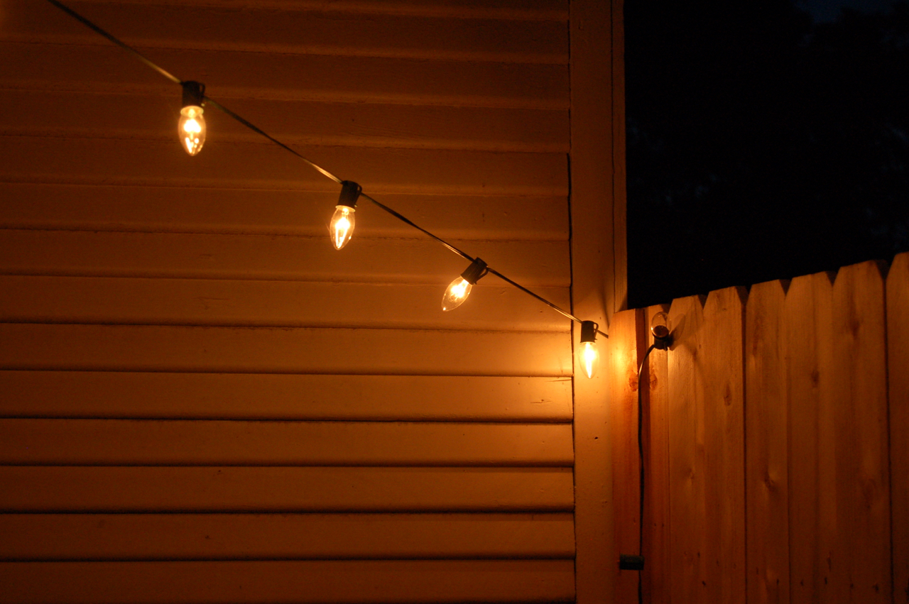 String Lights For Fireplace : Secondhand Goods: rental backyard: washer fire pit (part 11)