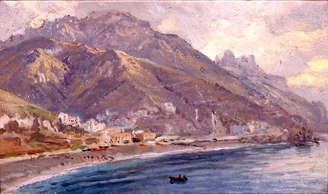 William Trost Richards, Mallorca en Pintura