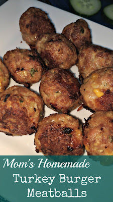 Turning Mommy - Turkey Burger Meatballs