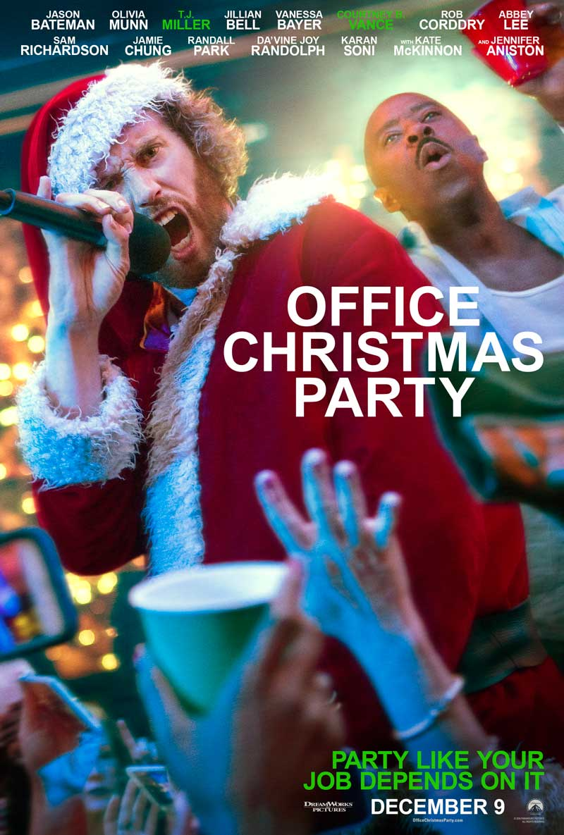 New Trailer And Posters For \'Office Christmas Party\' Throw A Holiday ...