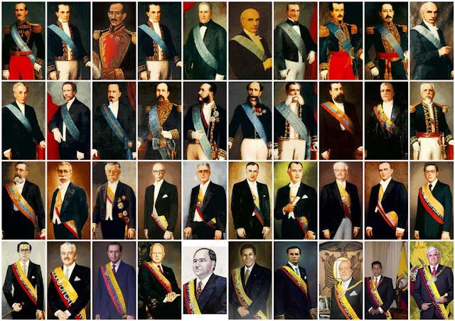 lista presidentes ecuador