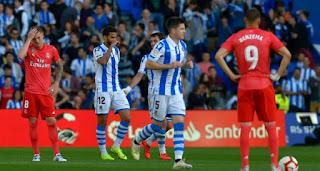ريال سوسيداد يقلب الطاولة على ريال مدريد في الليجا